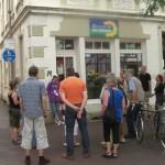 Start an der Hohenzollernstraße