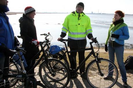 Die Gruppe an der Weser