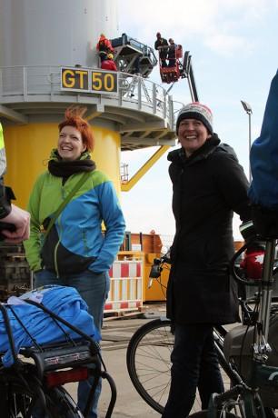 Wibke Brems und Anne Schierenbeck