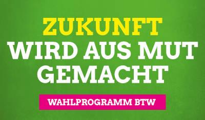 Wahlprogramm zur Bundestagswahl